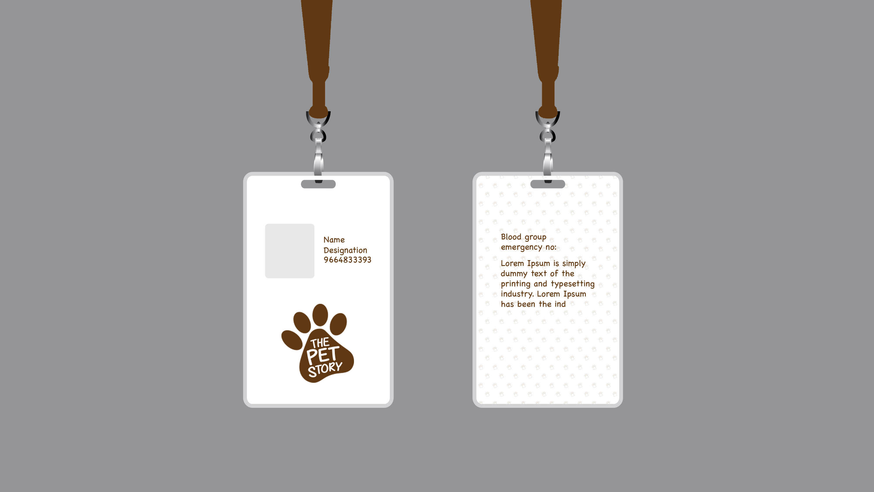 One Idea | The Pet Story | Identity Card